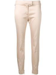 Tom Ford Mid Rise Skinny Trousers Neutrals