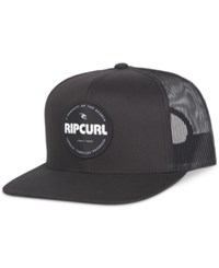 Rip Curl Men's Style Master Trucker Hat Black