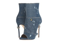 Dsquared Ankle Boot Denim Women's Boots Blue