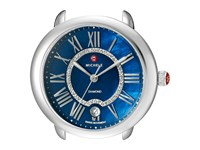 Michele 16Mm Serein 16 Stainless Blue Diamond Dial Stainless Steel