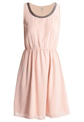 Only Petite Onlthea Sarah Cocktail Dress Party Dress Peach Whip Pink