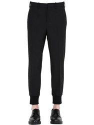 Neil Barrett Light Stretch Gabardine Trousers