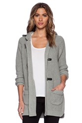 525 America Duffle Sweater Coat Gray
