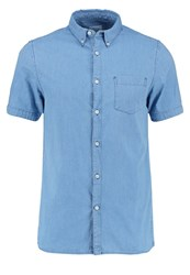 Burton Menswear London Shirt Blu Light Blue
