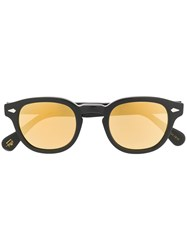Moscot Lemtosh Round Sunglasses Black
