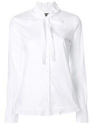 Twin Set Tie Knot Shirt White