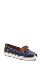 Sperry 'Harbor Stroll' Boat Shoe Women Navy Leather