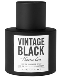 Kenneth Cole Vintage Black Eau De Toilette 3.4 Oz