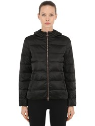 Emporio Armani Mountain Hooded Down Jacket Black