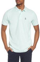 Psycho Bunny Classic Pique Polo Oyster