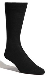 Men's Lorenzo Uomo Merino Wool Blend Socks Black 3 For 30