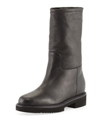 Vince Chenay Shearling Fur Lined Boot Black