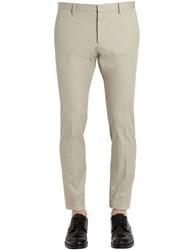 Dsquared Tidy Cotton Twill Chino Pants
