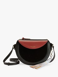 Ted Baker Solarr Half Moon Shoulder Bag Black