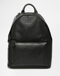 Ted Baker Heyriko Leather Backpack Black