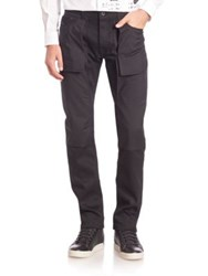 Diesel Black Gold Reversed Pocket Slim Fit Jeans Black