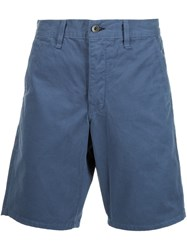 Rag And Bone Chino Shorts Blue