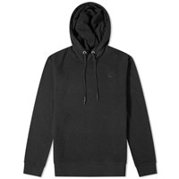 Mcq By Alexander Mcqueen Swallow Patch Popover Hoody Black