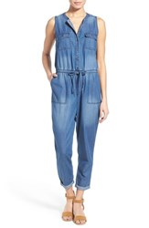 Women's Caslon Sleeveless Utility Jumpsuit