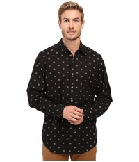 Robert Graham Inland Empire Long Sleeve Woven Shirt Black Men's Long Sleeve Button Up