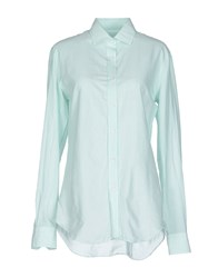 Salvatore Piccolo Shirts Shirts Women Light Green