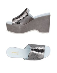 Jeannot Sandals Silver