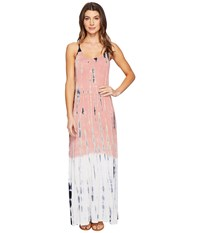 Culture Phit Erryka Spaghetti Strap Tie Dye Dress Pink Women's Dress