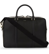 Paul Smith Accessories City Portfolio Leather Case Black