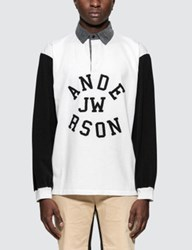J.W.Anderson Jw Anderson Rugby Long Sleeve Polo