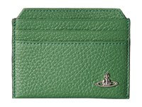 Vivienne Westwood Leather Card Holder Green Credit Card Wallet