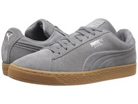 Puma Suede Classic Debossed Q4 Steel Gray Peacoat Men's Shoes