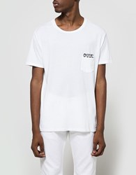 Quality Peoples Dude Pocket T Shirt White