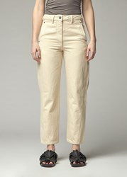 Christophe Lemaire 'S Twisted Pant In Cream Size 34