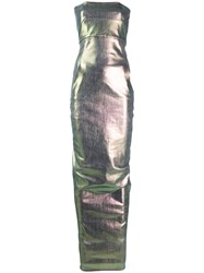 Rick Owens Oil Slick Bodice Gown 60