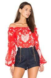 Alice Mccall My Sweet Lord Blouse Red