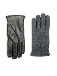 Hilts Willard Robert Cashmere And Wool Blend Gloves Black