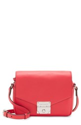 Vince Camuto Stina Leather Crossbody Bag Red Fruit Punch