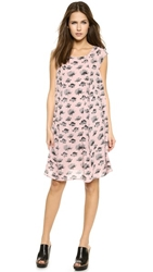 Rebecca Minkoff Tnt Dress Hydrangea Pink