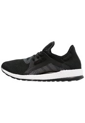 Adidas Performance Pureboost X Cushioned Running Shoes Core Black Solid Grey