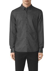 Allsaints Ramey Slim Fit Shirt Black