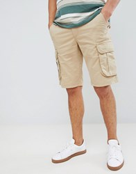 Pier One Cargo Shorts In Beige