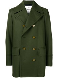 Vivienne Westwood Double Breasted Coat Green