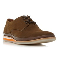 Bertie Boombox Derby Shoes Brown