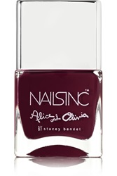 Nails Inc Alice Olivia Nail Polish Midnight Merlot