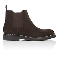 Heschung Tremble Suede Chelsea Boots Dk. Brown Dk.Brown