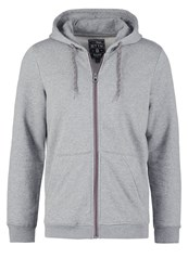 Tom Tailor Denim Tracksuit Top Heather Grey Melange Mottled Light Grey