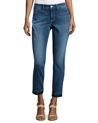 Nydj Clarissa Faded Ankle Jeans Heyburn Wash
