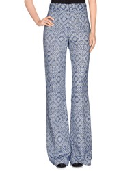 Matthew Williamson Trousers Casual Trousers Women Blue