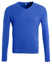 United Colors Of Benetton Jumper Royal Royal Blue