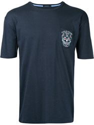 Guild Prime Skull Pocket T Shirt Blue